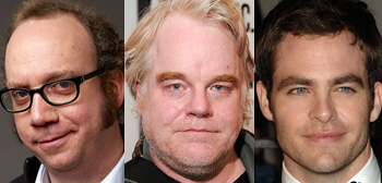 Philip Seymour Hoffman, Paul Giamatti, Chris Pine