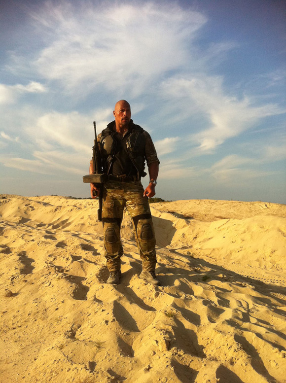 First Look - Dwayne Johnson in G.I. Joe: Retaliation