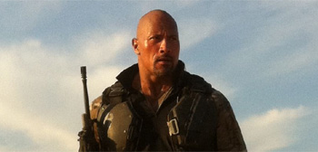 Dwayne Johnson in G.I. Joe: Retaliation