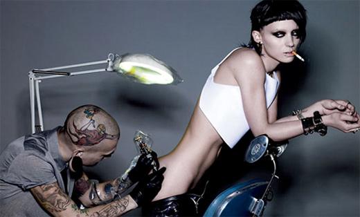 Rooney Mara as Lisbeth Salander 1