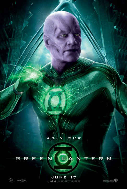 Green Lantern Poster - Abin Sur