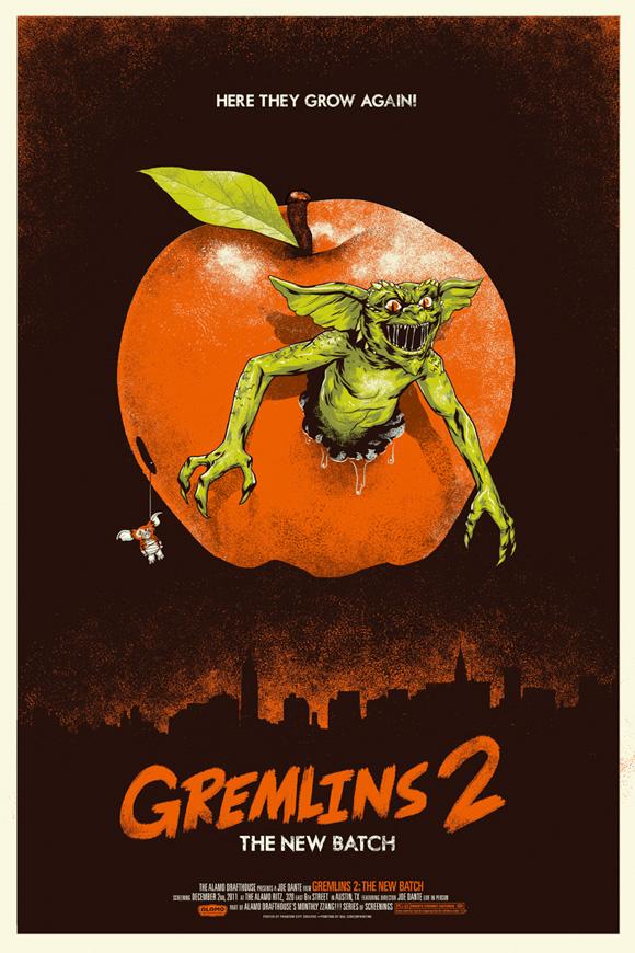 Gremlins 2 - Mondo Poster