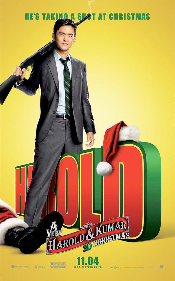 A Very Harold & Kumar Christmas - Harold Poster