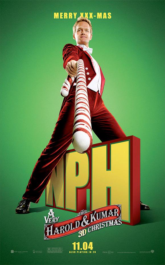 A Very Harold & Kumar Christmas - NPH Poster