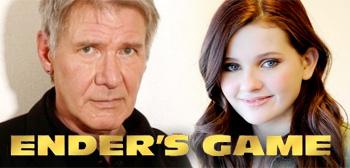 Harrison Ford & Abigail Breslin - Ender's Game