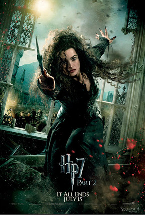Harry Potter and the Deathly Hallows: Part 2 Poster - Bellatrix