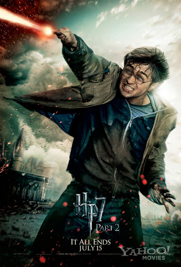 Harry Potter and the Deathly Hallows: Part 2 Poster - Harry (Full)