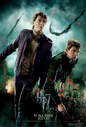 Harry Potter and the Deathly Hallows: Part 2 Poster - Fred and George Weasley
