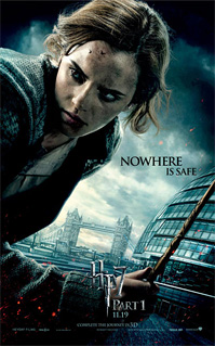 Harry Potter and the Deathly Hallows Banner - Hermione
