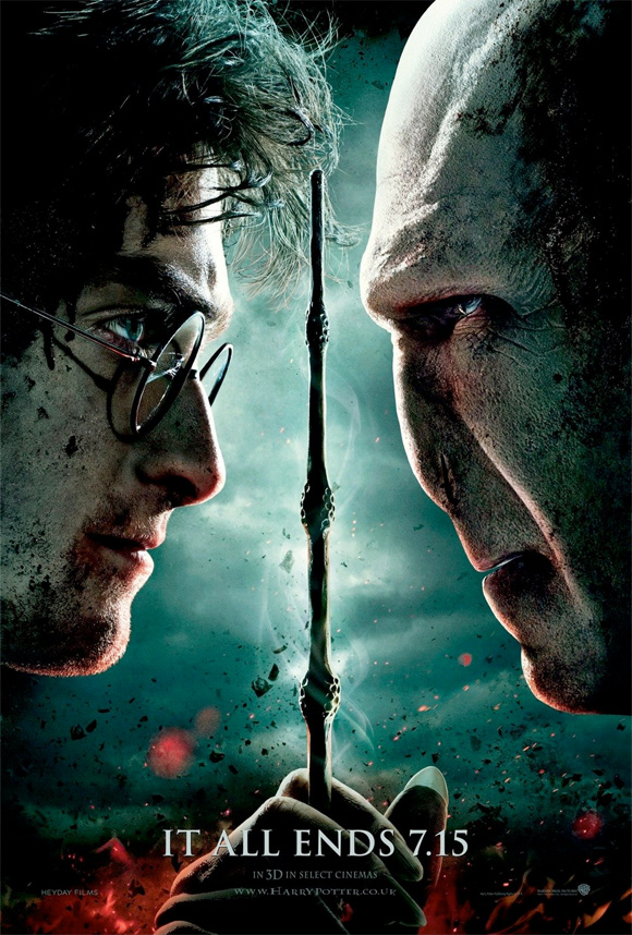 Harry Potter and the Deathly Hallows: Part 2 Teaser Poster