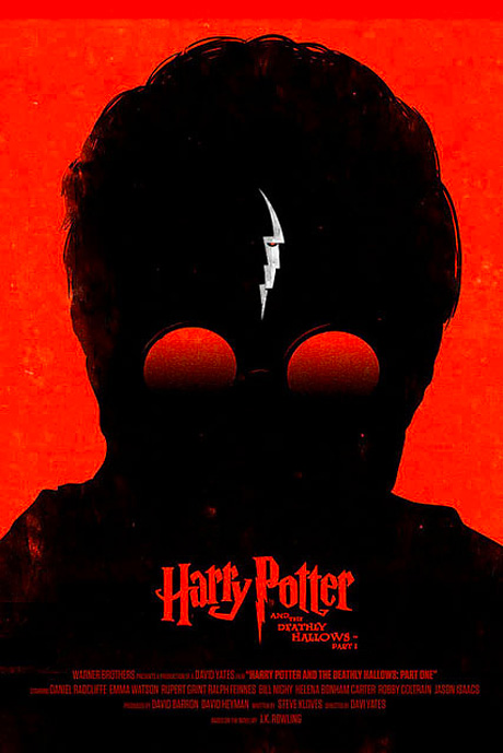Olly Moss - Harry Potter and the Deathly Hallows