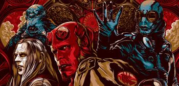 Guillermo del Toro's Hellboy 2 Poster