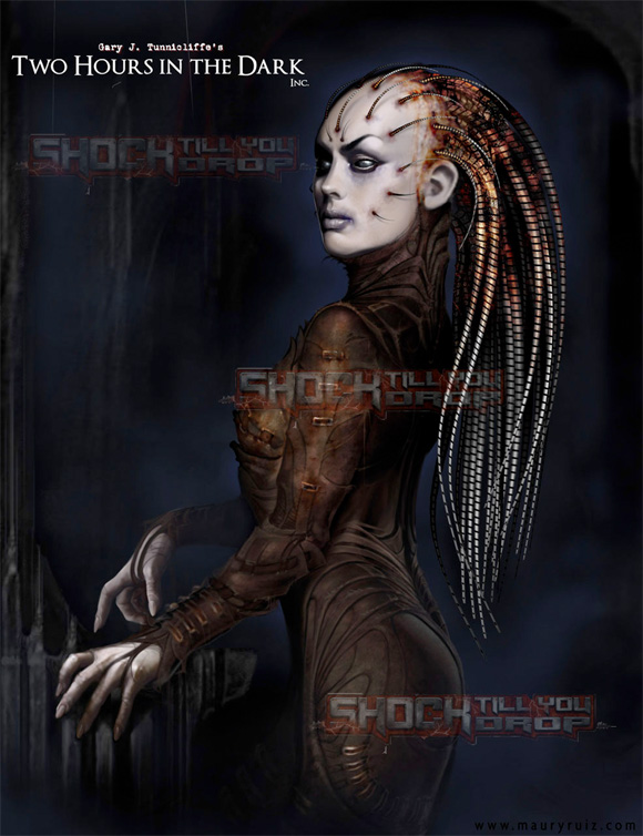 Hellraiser Remake - Female Cenobite Concept Art