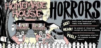 Homemade Haunted House