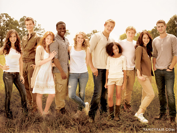 The Hunger Games - Cast Photo