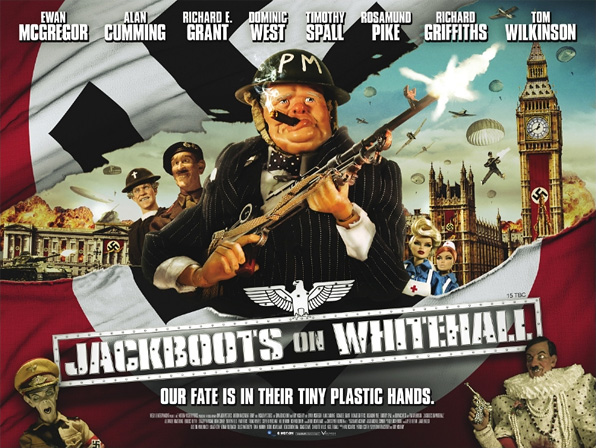 Jackboots on Whitehall Poster