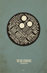 Jerod Gibson's The Big Lebowski Poster