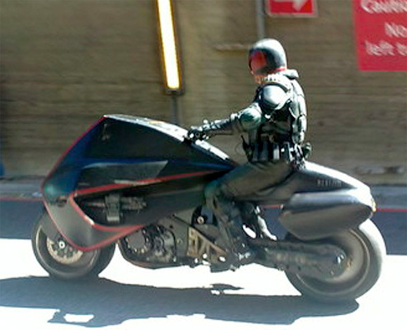Judge Dredd Lawmaster Bike Photo