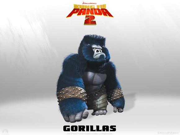 Kung Fu Panda 2 - Gorillas