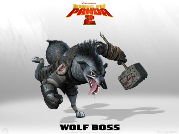 Kung Fu Panda 2 - Wolf Boss