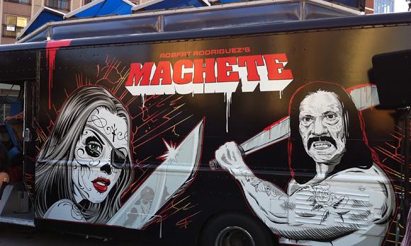Machete Truck