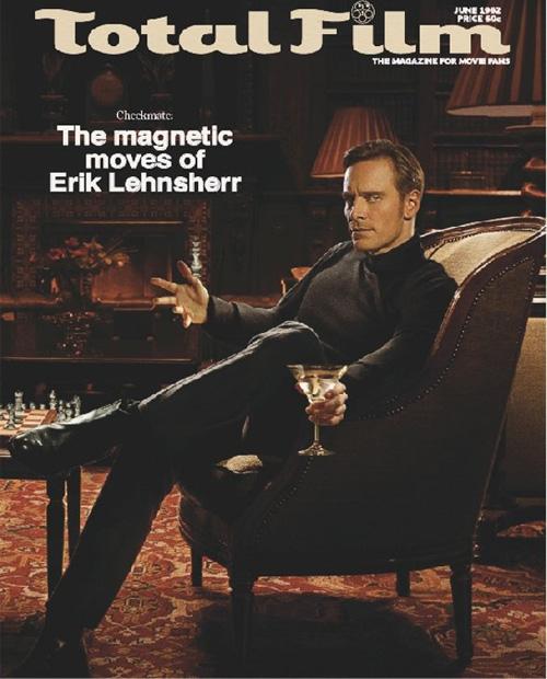 Magneto Retro Magazine Cover