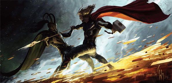 Marvel's Thor Artwork