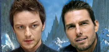 James McAvoy &#038; Tom Cruise - At the Mountains of Madness
