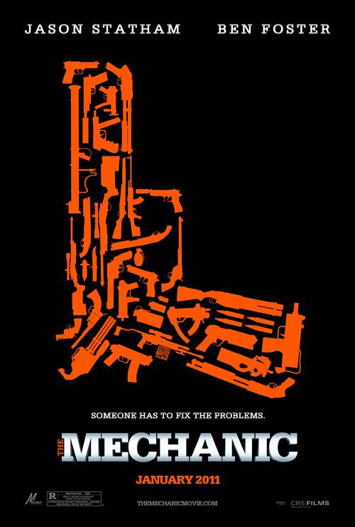 Jason Statham Mechanic-gunorangetposter-fullsize