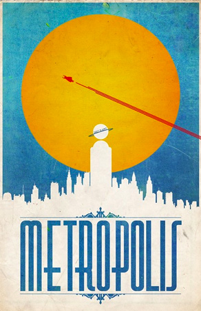 Justin Van Genderen - Travel Poster - Metropolis