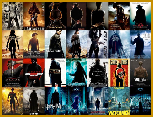 Movie Poster Trends - Backs Turned