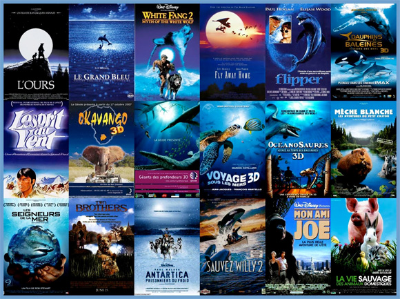 Movie Poster Trends - Blue Nature Movies