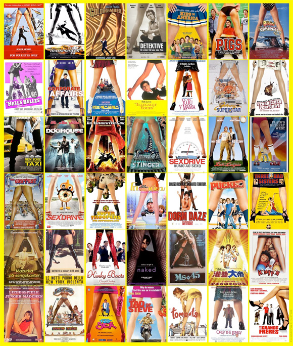 Movie Poster Trends - Legs Spread