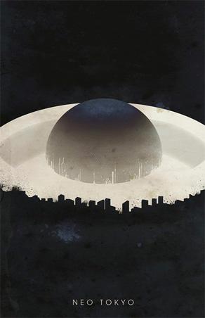Justin Van Genderen - Travel Poster - Neo Tokyo