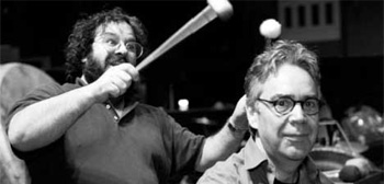 Peter Jackson and Howard Shore