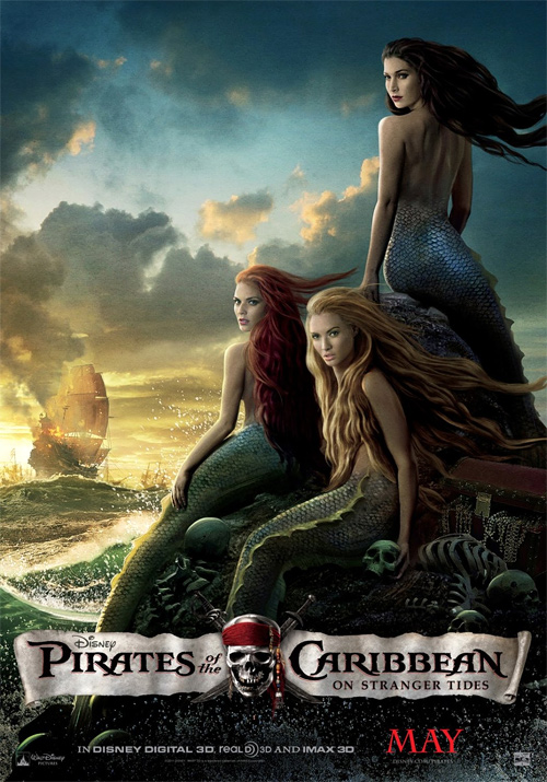 Pirates of the Caribbean: On Stranger Tides Mermaid Poster