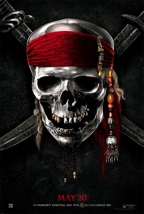 Pirates of the Caribbean: On Stranger Tides Teaser Poster