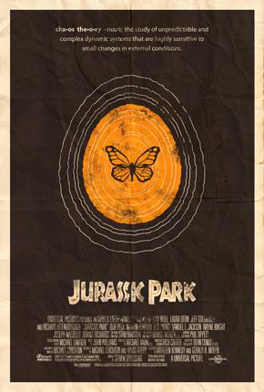 Rabalais' Jurassic Park Poster