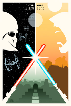 Adam Rabalais' Star Wars Poster