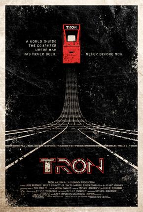 Adam Rabalais' Tron Poster