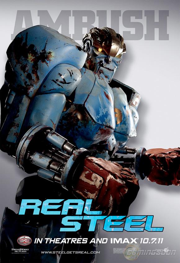 Real Steel - Ambush Poster