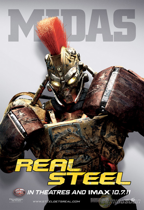 Real Steel - Midas Poster