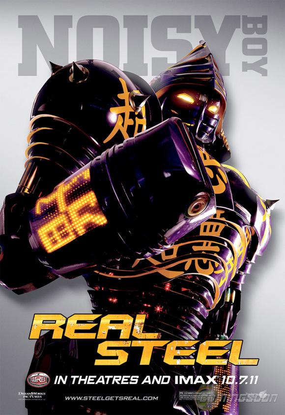 Real Steel - Noisy Boy Poster