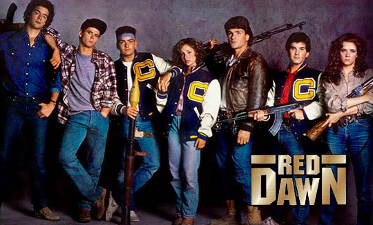 Red Dawn Original Cast Photo