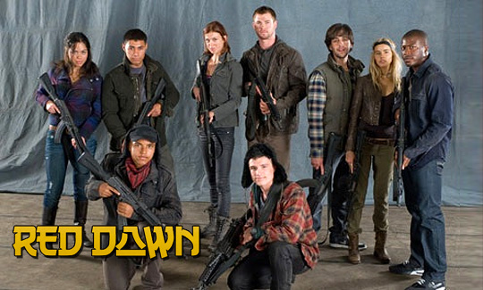 Red Dawn Cast Photo