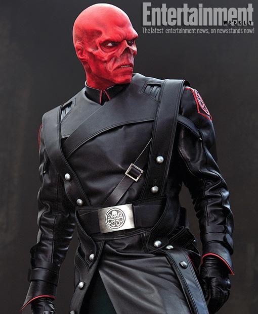 Red Skull Photo