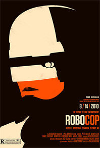 Olly Moss Rolling Roadshow - Robocop