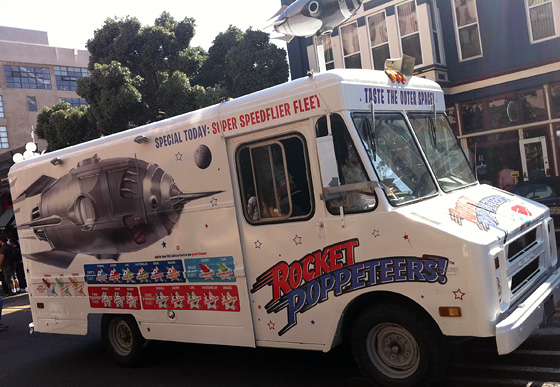 Rocket Poppeteers Ice Cream Truck