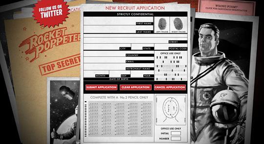 Rocket Poppeteers Website