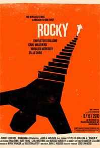 Olly Moss Rolling Roadshow - Rocky